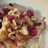 Apple & Pear Oatmeal Recipe by Farmhouse Made