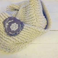 DIY Infinity Scarf by Farmhouse Made