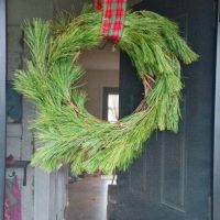 Pine Roping Christmas Wreath