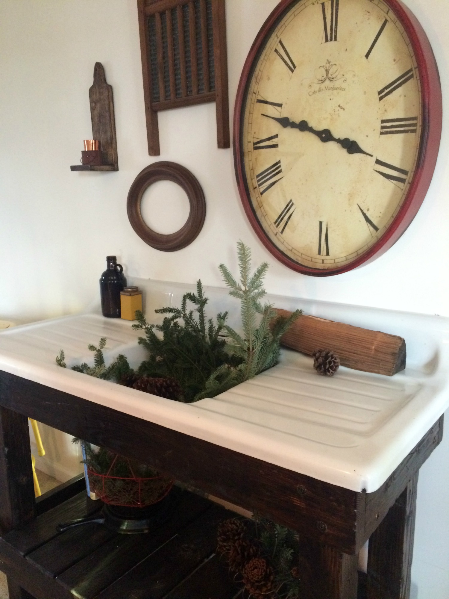 Our Salvaged Antique Cast Iron Sink Project Farmhouse Made