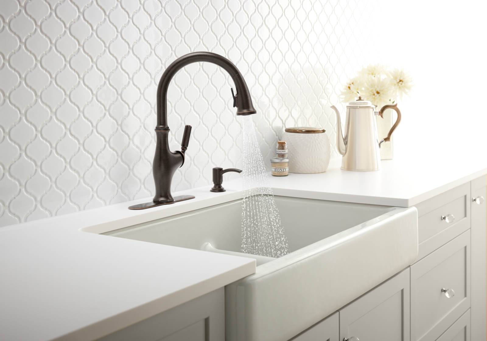 wonderful Farmhouse Kitchen Faucet #1: I cannot choose which faucet is going to look the best in my farmhouse  kitchen!