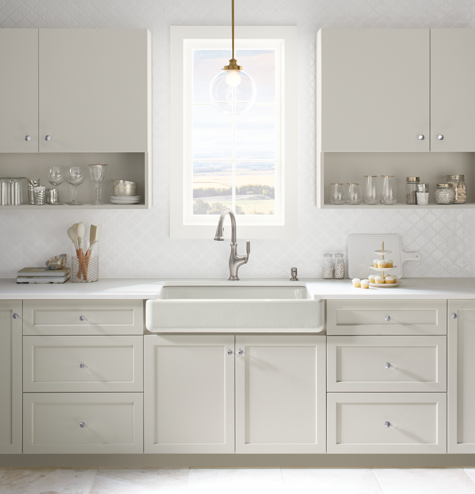 good Farmhouse Kitchen Faucet #5: I cannot choose which faucet is going to look the best in my farmhouse  kitchen!