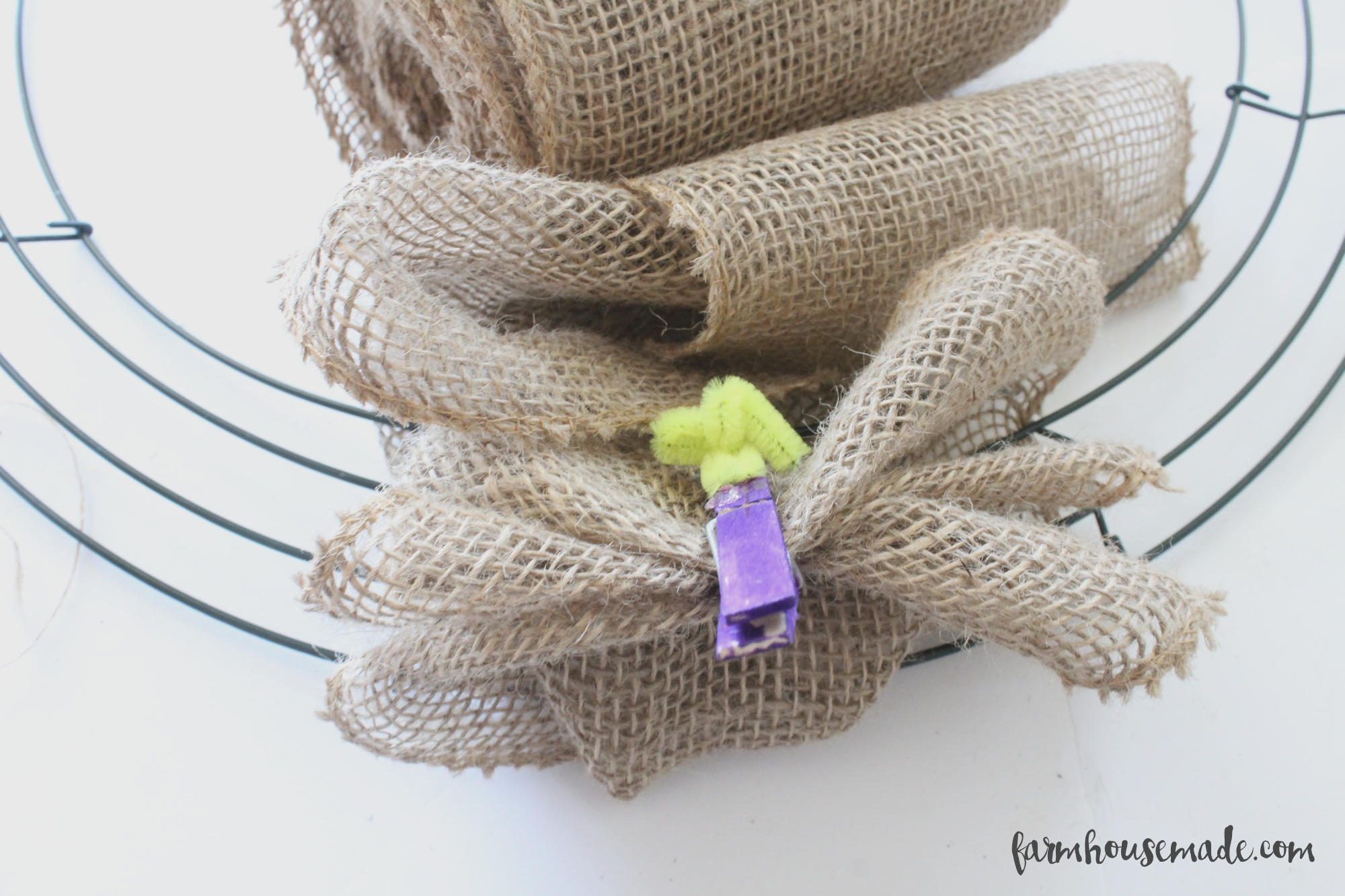 How-To-Make-A-Burlap-Wreath-Farmhouse-Made-4