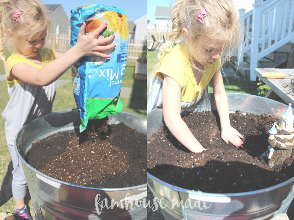 Make a Stress Free Fairy Garden with your kiddos! It's so simple!!!
