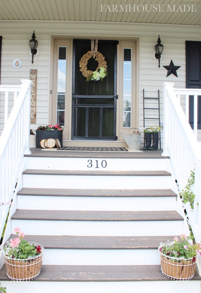 Farmhouse Porch - Welcome to the farmhouse!
