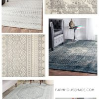 What do you do when you can't afford a Joanna rug!?