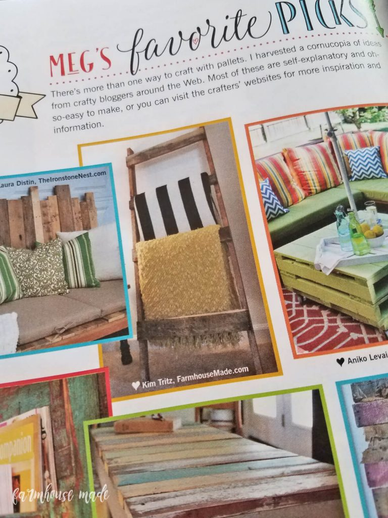 That e Time My Project Was in a Magazine Farmhouse Made