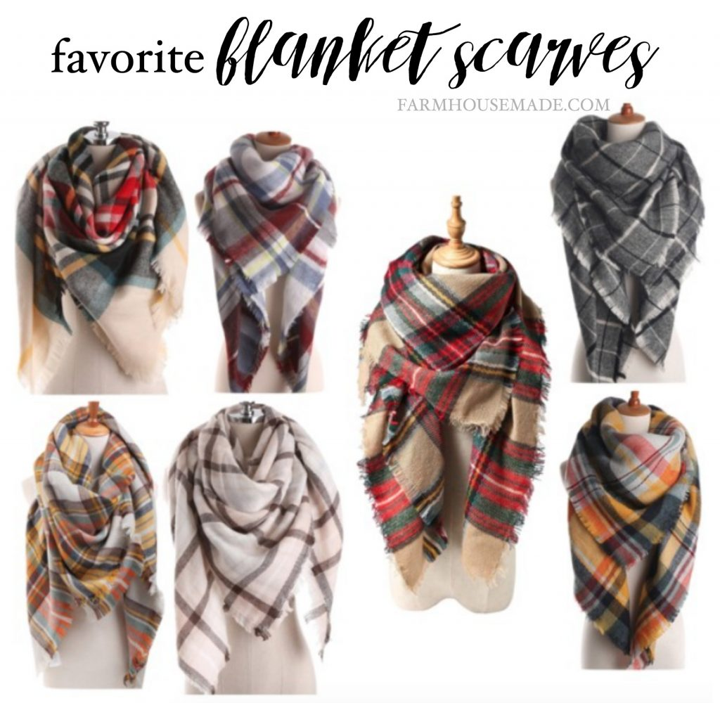 Make your own blanket scarf or snag one of these, and it'll really polish your outfit!