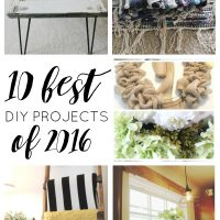 These are THE very best DIY projects of 2016! So many great things, I can't wait to try #8!