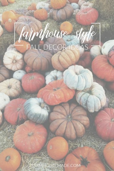 The most gorgeous farmhouse style fall decor ideas are right here! These gorgeous green, white, and frosty odd-shaped pumpkins are just the beginning of a cozy fall season!