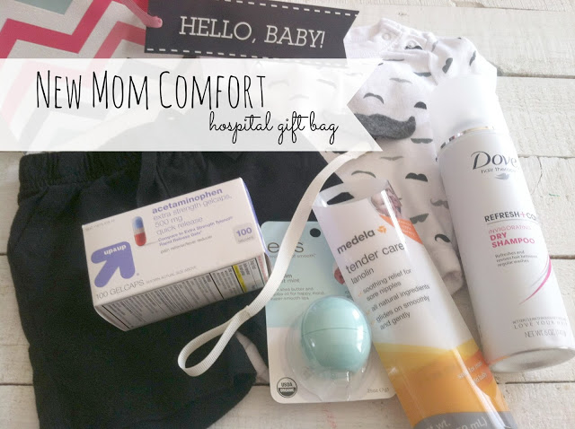 New Mom Comfort Gift Bag