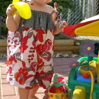 Toddler Bubble Romper by Farmhouse Made