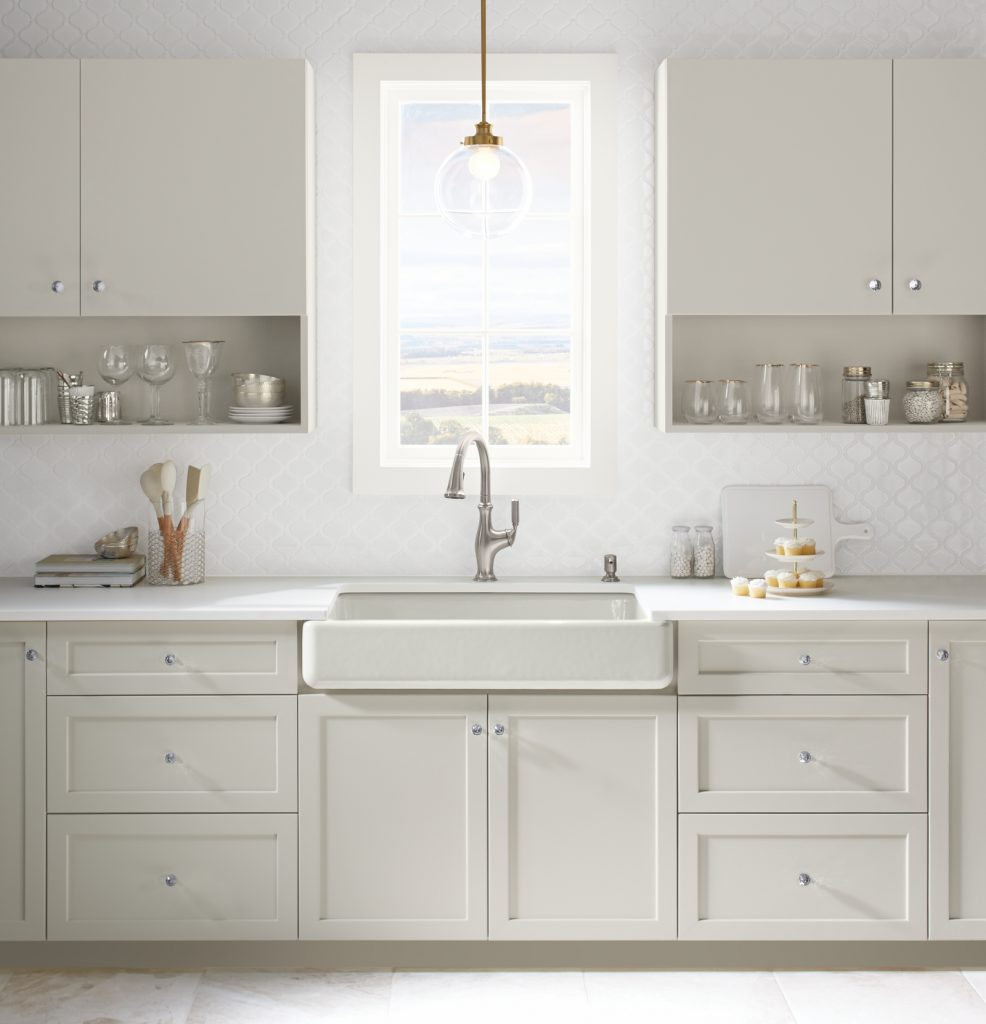 I cannot choose which faucet is going to look the best in my farmhouse kitchen!