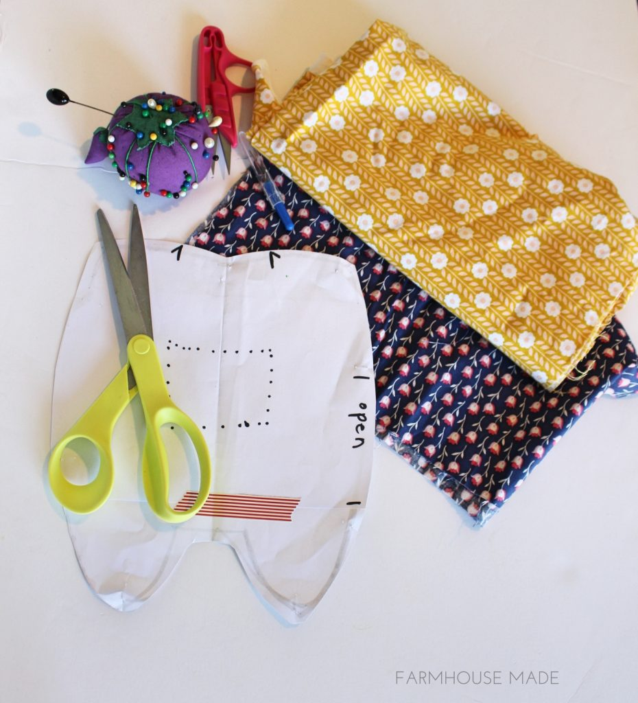 Supplies you need to whip up your own Tooth Fairy Pillow!