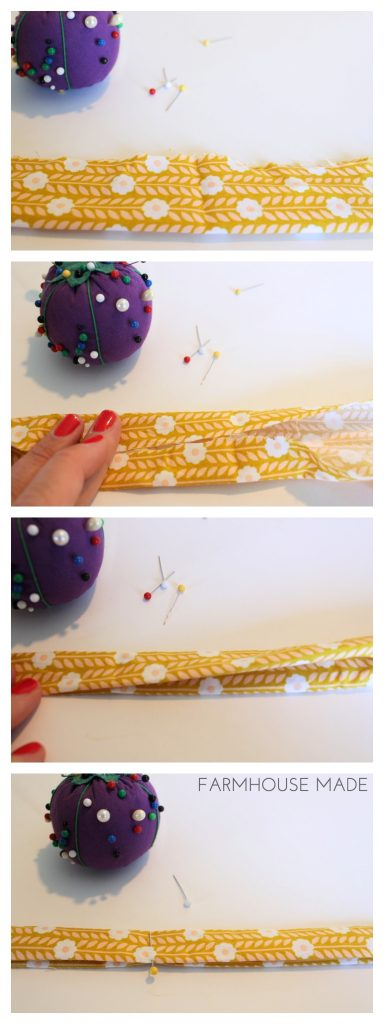 Simple way to make the strap for the Tooth Fairy Pillow!