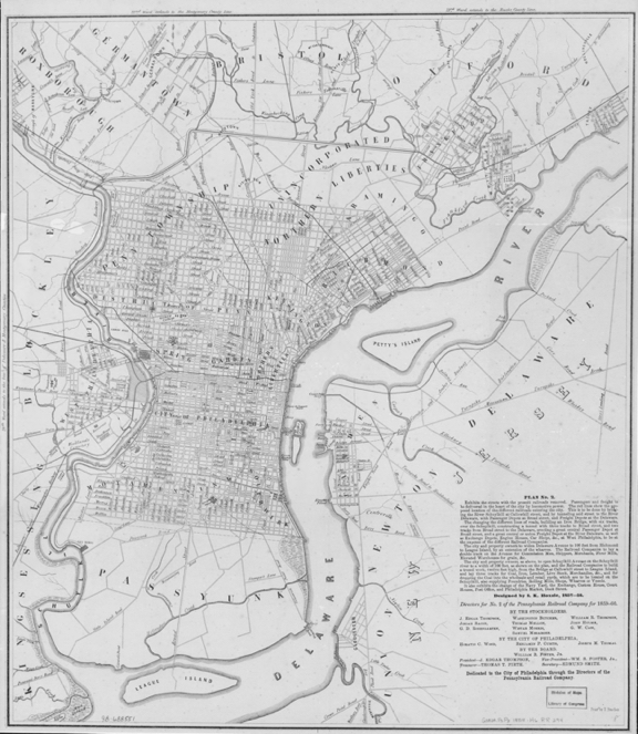 LOC _ Philadelphia Map