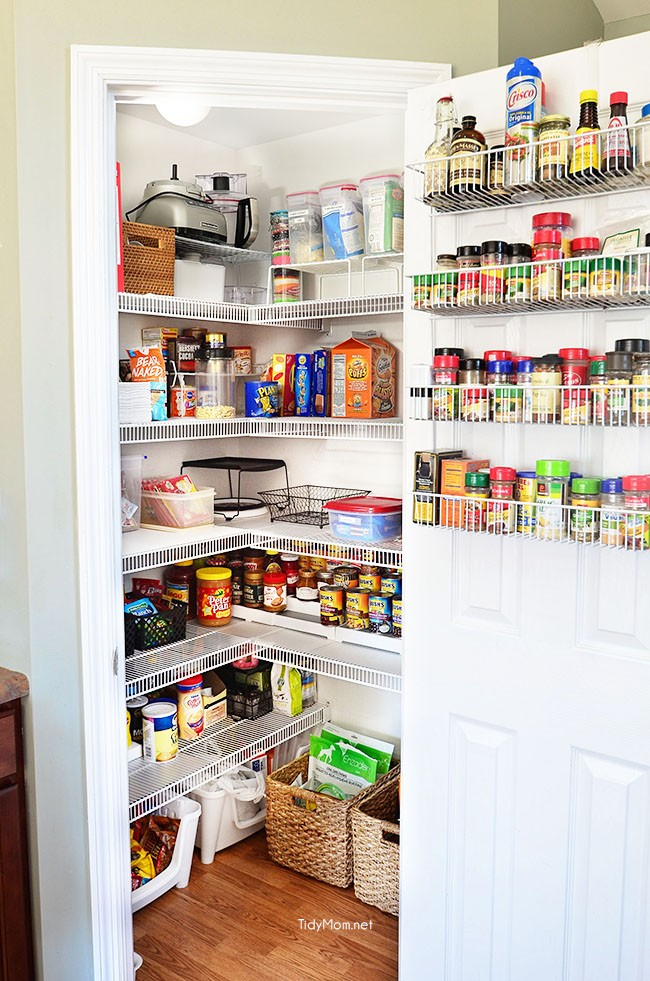 Real Life Pantry Organizing Tips