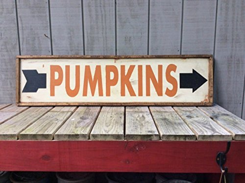 Some of my favorite farmhouse-style fall signs that I found on Handmade at Amazon!