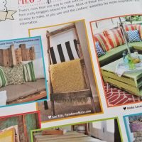 My DIY Blanket Ladder is in a magazine!