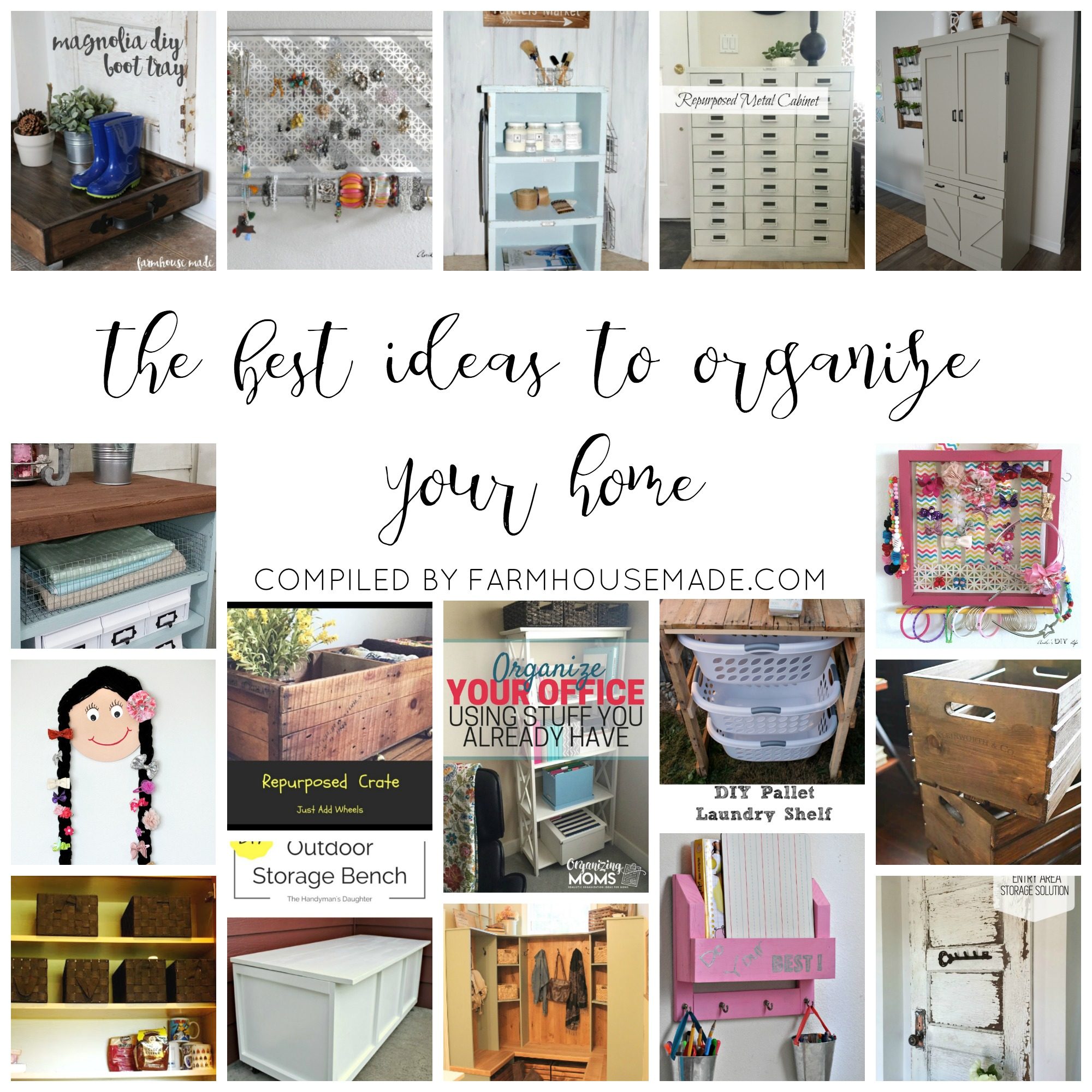 The best ideas to organize your home farmhouse made Organizing home