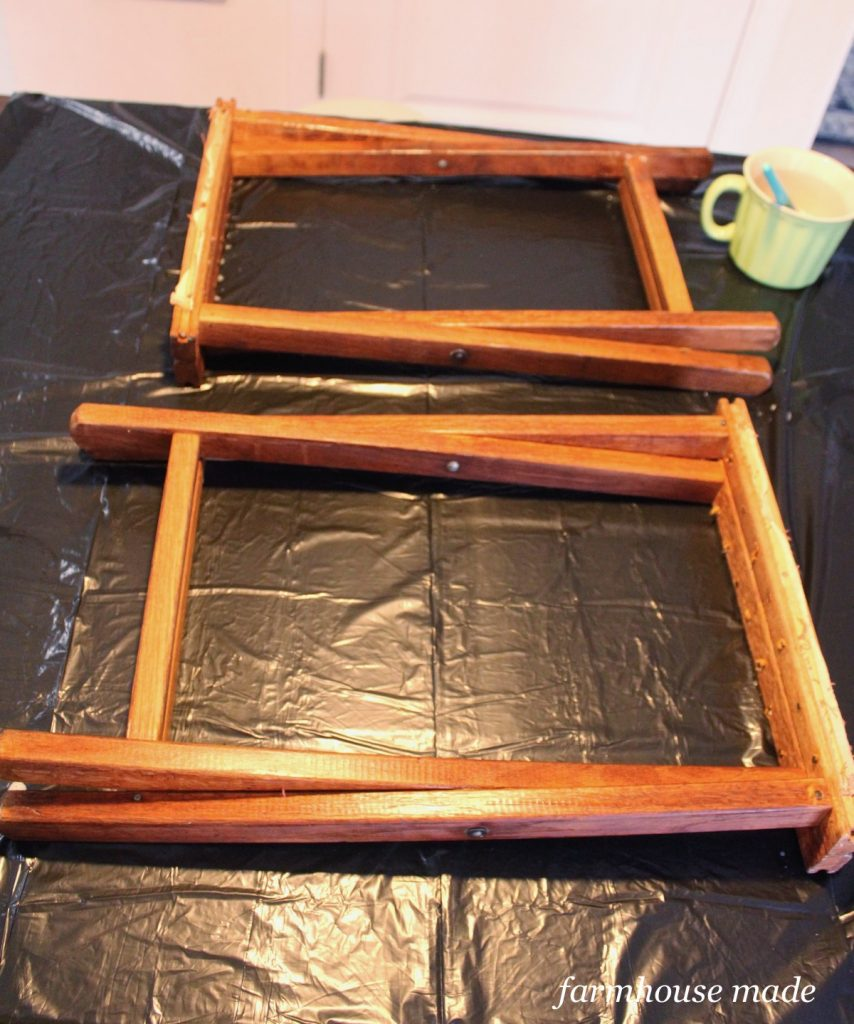 This thrift store makeover looks amazing! Have you ever tried bleaching wood?