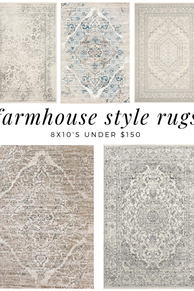 Farmhouse rugs on amazon