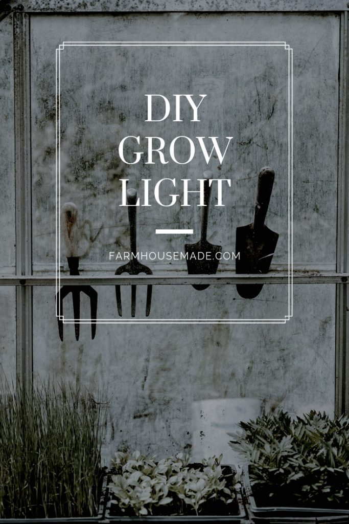diy grow light pinterest