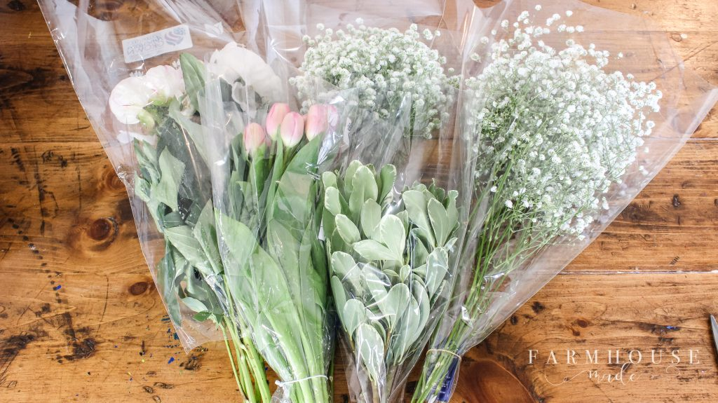 Flowers for arranging