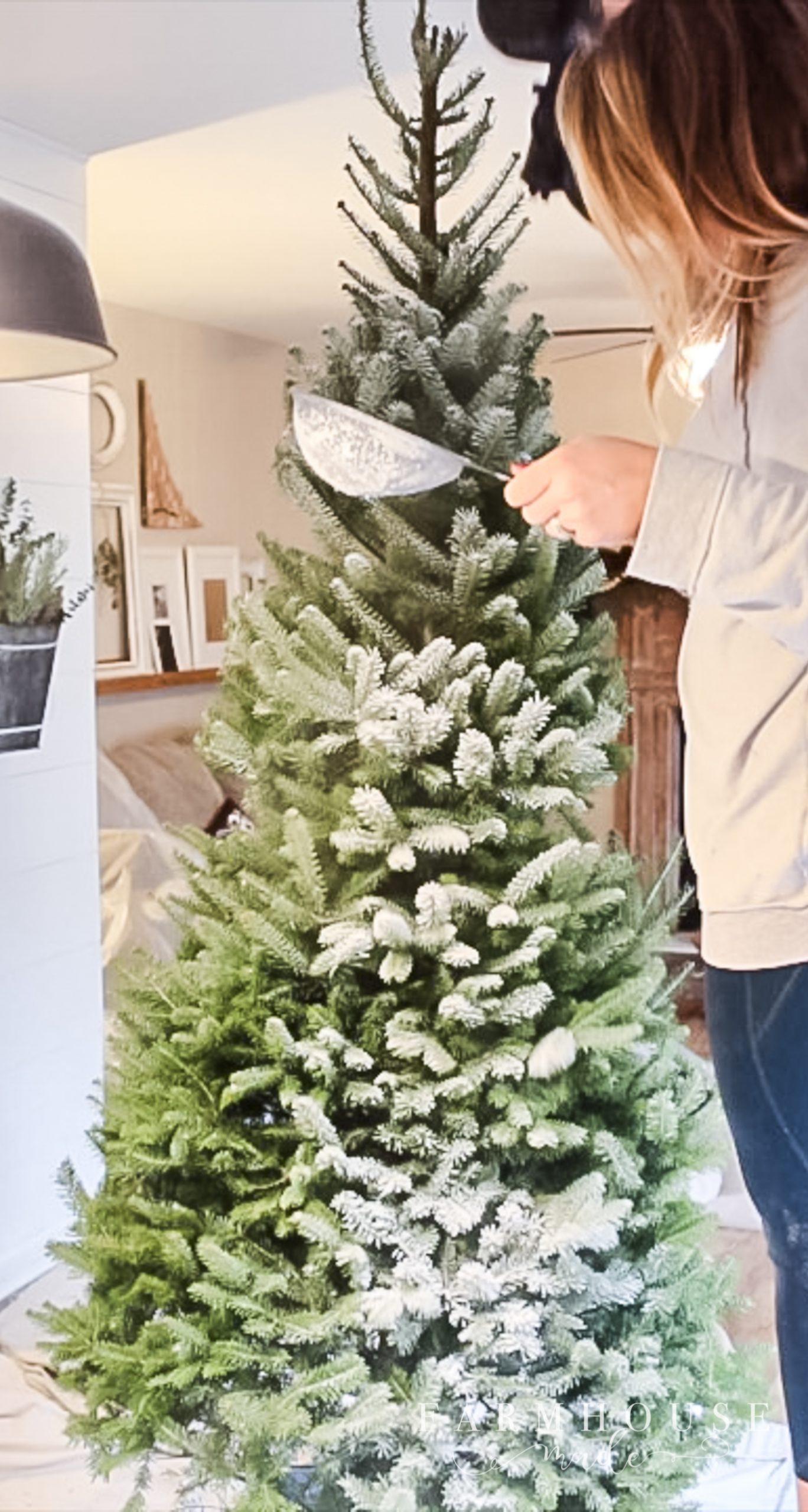 Flocking-A-Christmas-Tree-15 - F A R M H O U S E . M A D E